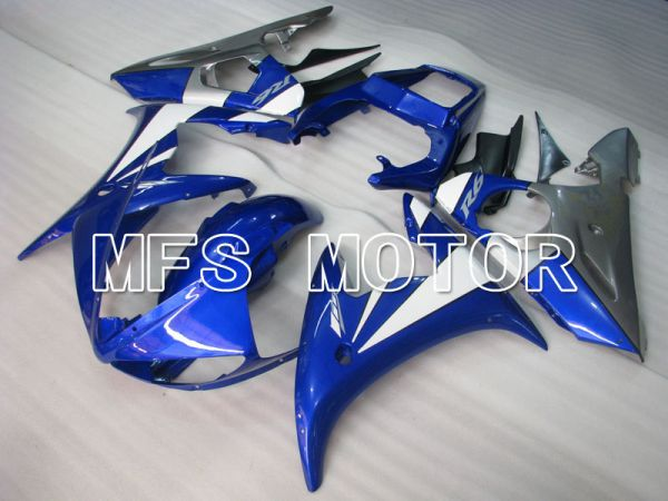 Yamaha YZF-R6 2005 Injection ABS Fairing - Factory Style - Blue White - MFS3693