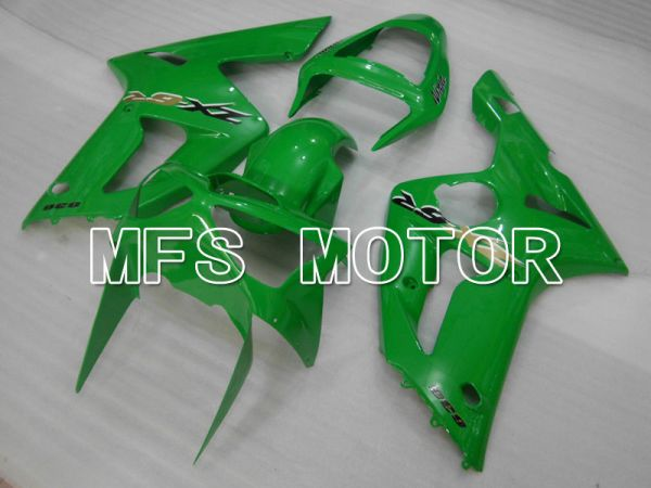 Kawasaki NINJA ZX6R 2003-2004 Injection ABS Fairing - Factory Style - Green - MFS3694