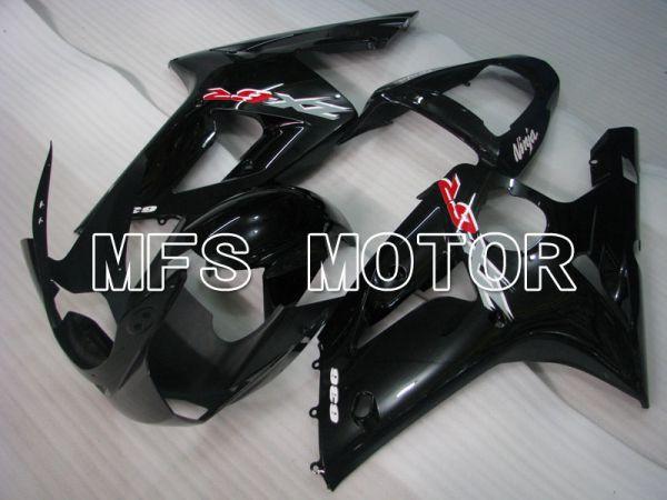 Kawasaki NINJA ZX6R 2003-2004 Injection ABS Fairing - Factory Style - Black - MFS3698