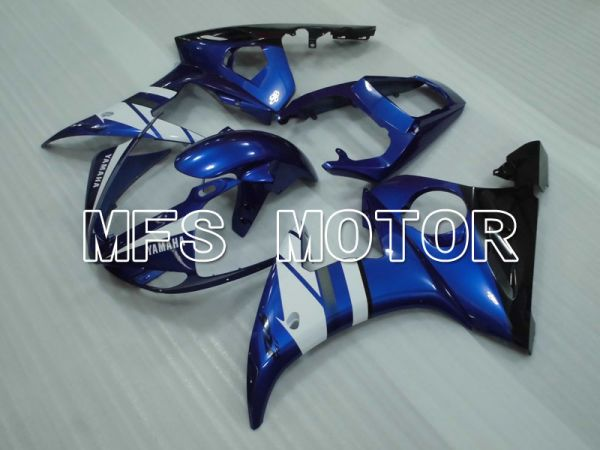 Yamaha YZF-R6 2005 Injection ABS Fairing - Factory Style - Blue White - MFS3700