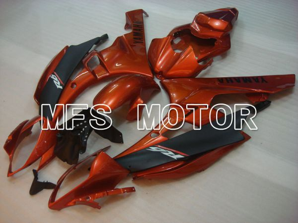Yamaha YZF-R6 2006-2007 Injection ABS Fairing - Factory Style - Red wine color Black - MFS3702