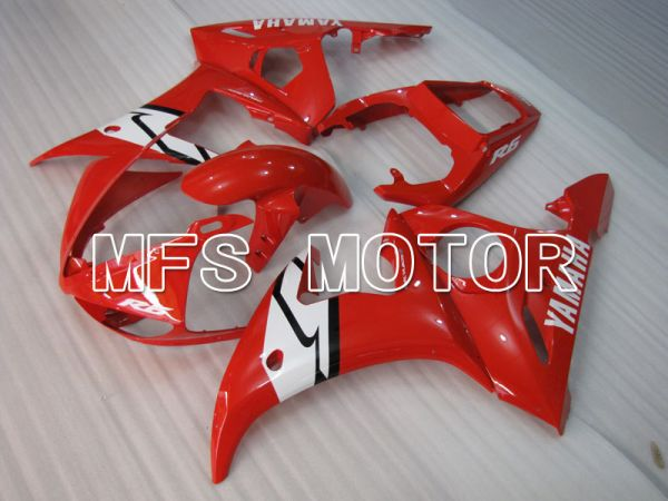 Yamaha YZF-R6 2005 Injection ABS Fairing - Factory Style - Red White - MFS3704