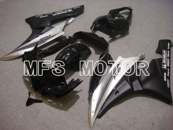 Yamaha YZF-R6 2006-2007 Injection ABS Fairing - Factory Style - Silver Black Matte - MFS3706