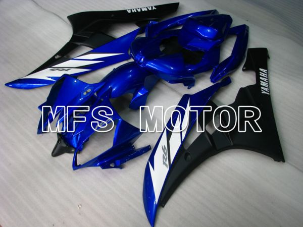 Yamaha YZF-R6 2006-2007 Injection ABS Fairing - Factory Style - Blue Black Matte - MFS3712