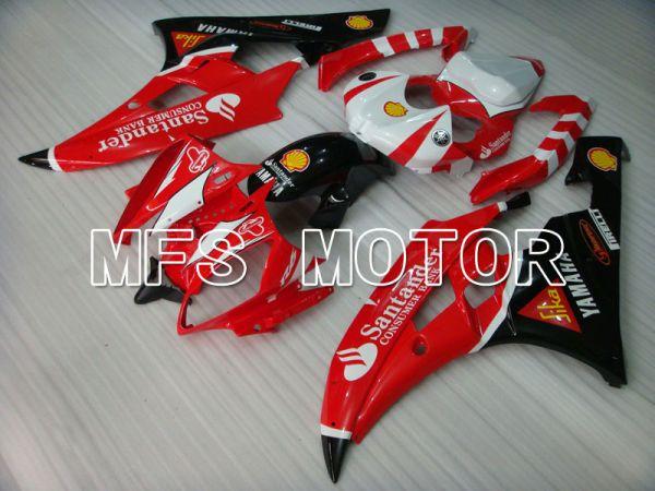 Yamaha YZF-R6 2006-2007 Injection ABS Fairing - Santander - Red Black - MFS3715