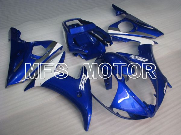 Yamaha YZF-R6 2005 Injection ABS Fairing - Factory Style - Blue White - MFS3719