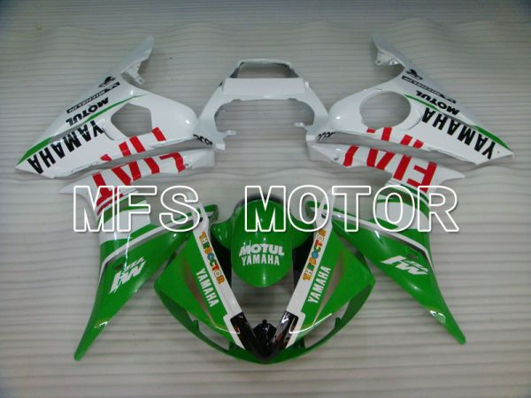 Yamaha YZF-R6 2005 Injection ABS Fairing - FIAT - Green White - MFS3721