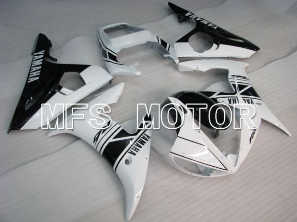 Yamaha YZF-R6 2005 Injection ABS Fairing - Factory Style - White Black - MFS3724