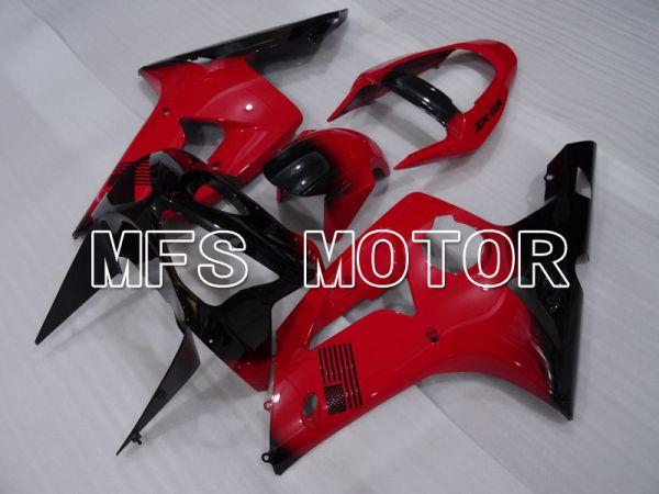 Kawasaki NINJA ZX6R 2003-2004 Injection ABS Fairing - Factory Style - Black Red - MFS3727