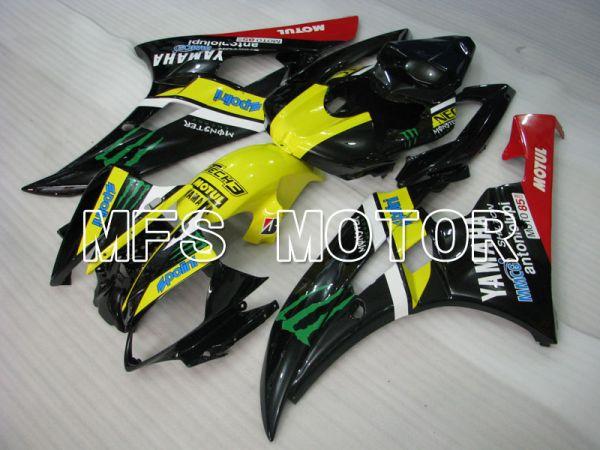 Yamaha YZF-R6 2006-2007 Injection ABS Fairing - Monster - Yellow Black - MFS3729