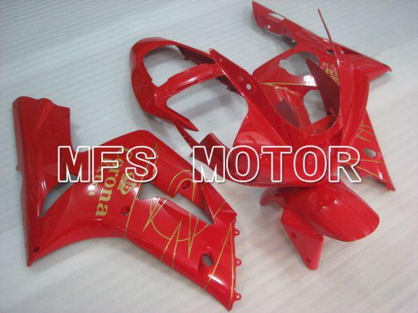 Kawasaki NINJA ZX6R 2003-2004 Injection ABS Fairing - Corona - Red - MFS3730