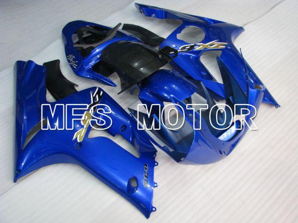 Kawasaki NINJA ZX6R 2003-2004 Injection ABS Fairing - Factory Style - Blue - MFS3734