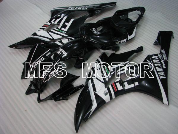 Yamaha YZF-R6 2006-2007 Injection ABS Fairing - FIAT - Black White - MFS3745