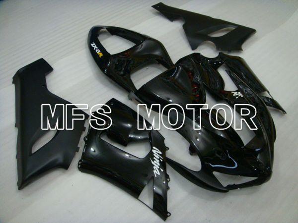 Kawasaki NINJA ZX6R 2005-2006 Injection ABS Fairing - Factory Style - Black - MFS3758