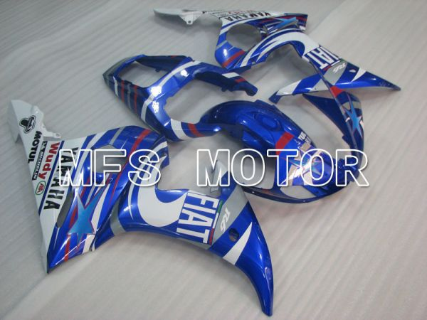 Yamaha YZF-R6 2005 Injection ABS Fairing - FIAT - Blue White - MFS3761