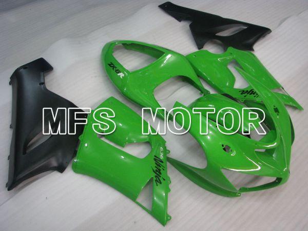 Kawasaki NINJA ZX6R 2005-2006 Injection ABS Fairing - Factory Style - Green - MFS3768