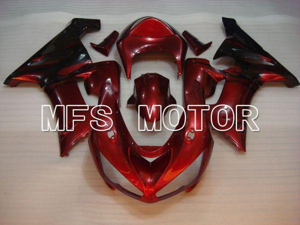 Kawasaki NINJA ZX6R 2005-2006 Injection ABS Fairing - Factory Style - Red wine color - MFS3769