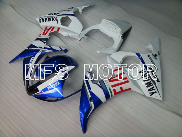Yamaha YZF-R6 2005 Injection ABS Fairing - FIAT - Blue White - MFS3770