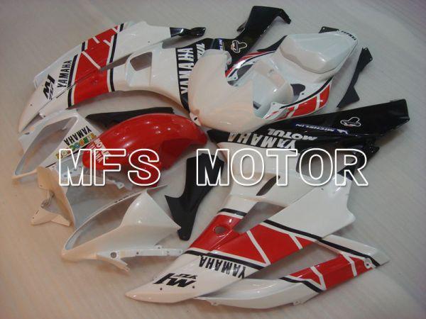 Yamaha YZF-R6 2006-2007 Injection ABS Fairing - Flame - White Black - MFS3775
