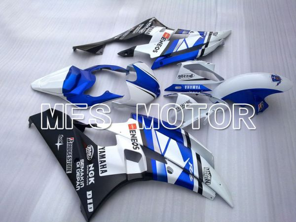 Yamaha YZF-R6 2006-2007 Injection ABS Fairing - ENEOS - Blue White - MFS3786