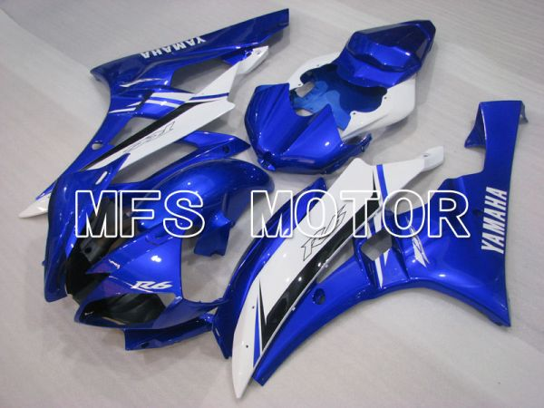 Yamaha YZF-R6 2006-2007 Injection ABS Fairing - Factory Style - Blue White - MFS3796