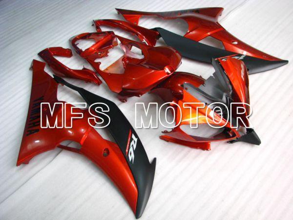 Yamaha YZF-R6 2008-2016 Injection ABS Fairing - Factory Style - Orange Black Matte - MFS3797