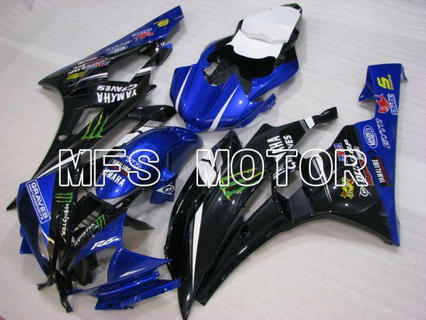 Yamaha YZF-R6 2006-2007 Injection ABS Fairing - Monster - Blue Black - MFS3798