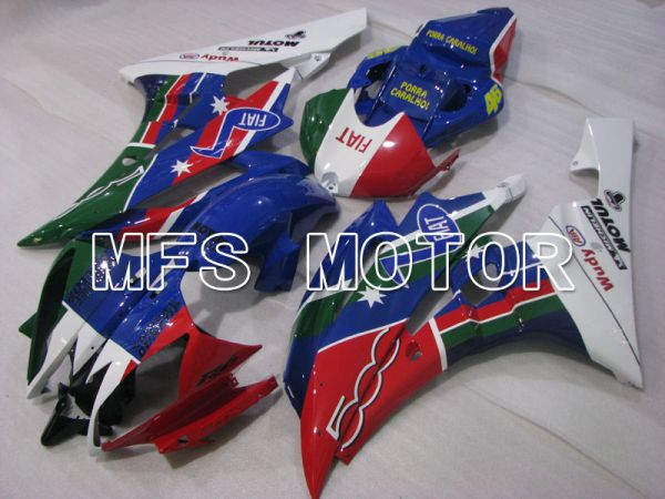 Yamaha YZF-R6 2006-2007 Injection ABS Fairing - Others - Red Blue Green - MFS3800