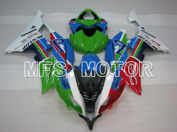Yamaha YZF-R6 2008-2016 Injection ABS Fairing - Others - Red Blue Green - MFS3806