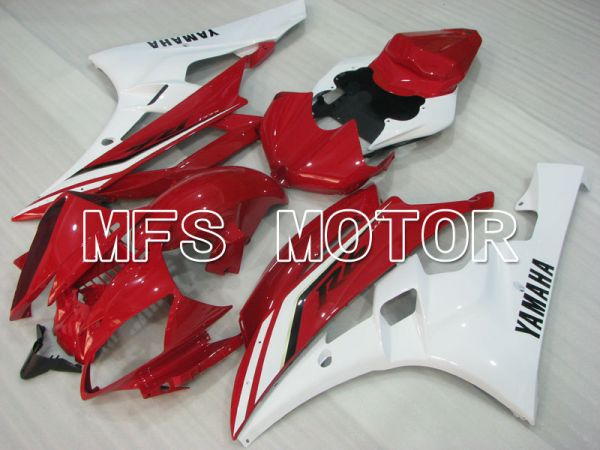 Yamaha YZF-R6 2006-2007 Injection ABS Fairing - Factory Style - Red White - MFS3807