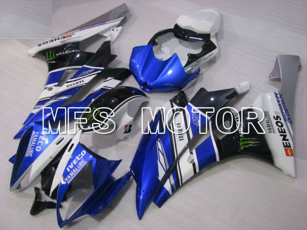 Yamaha YZF-R6 2006-2007 Injection ABS Fairing - Monster - Blue White - MFS3810
