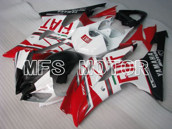 Yamaha YZF-R6 2008-2016 Injection ABS Fairing - FIAT - Red White - MFS3812