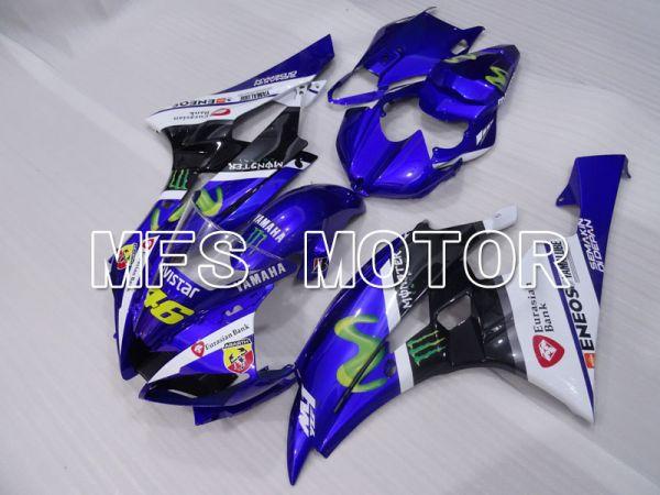 Yamaha YZF-R6 2006-2007 Injection ABS Fairing - Movistar - Blue Black - MFS3815