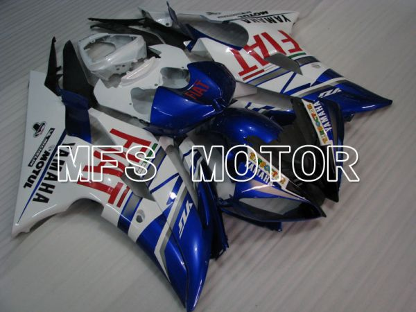 Yamaha YZF-R6 2008-2016 Injection ABS Fairing - FIAT - Blue White - MFS3817