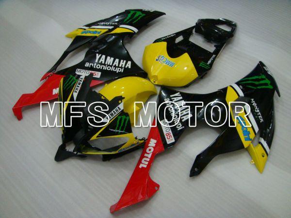 Yamaha YZF-R6 2008-2016 Injection ABS Fairing - Monster - Yellow Black - MFS3821