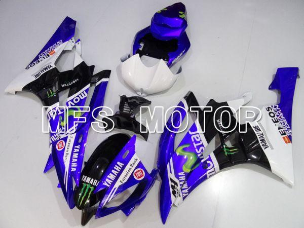 Yamaha YZF-R6 2006-2007 Injection ABS Fairing - Movistar - Purple Black - MFS3823