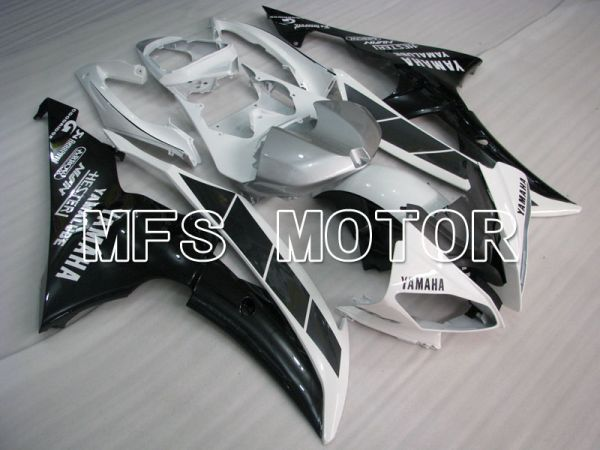 Yamaha YZF-R6 2008-2016 Injection ABS Fairing - Factory Style - White Black - MFS3828