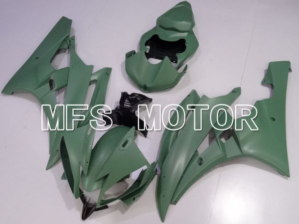 Yamaha YZF-R6 2006-2007 Injection ABS Fairing - Factory Style - ArmyGreen Matte - MFS3829