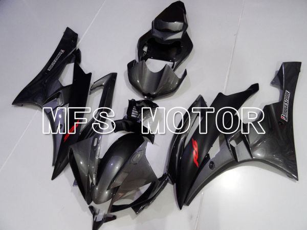 Yamaha YZF-R6 2006-2007 Injection ABS Fairing - Factory Style - Silver Black Matte - MFS3839