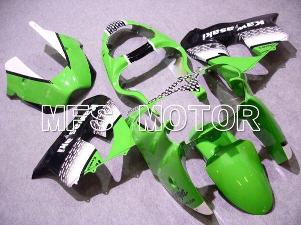 Kawasaki NINJA ZX9R 2000-2001 ABS Fairing - Factory Style - Black Green White - MFS3841