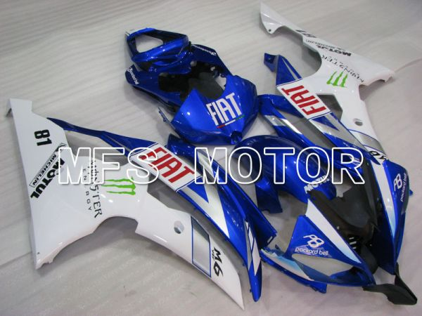 Yamaha YZF-R6 2008-2016 Injection ABS Fairing - FIAT - Blue White - MFS3842