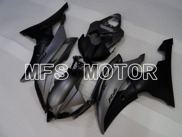 Yamaha YZF-R6 2008-2016 Injection ABS Fairing - Factory Style - Matte Black Gray - MFS3844