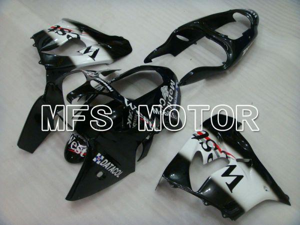 Kawasaki NINJA ZX9R 2000-2001 ABS Fairing - West - Black White - MFS3845