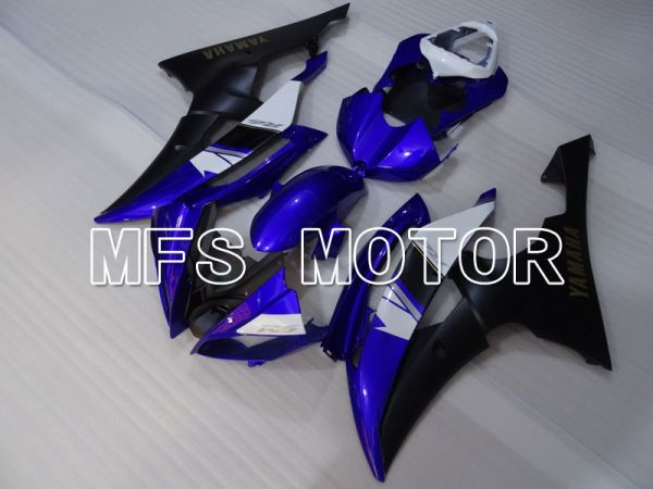 Yamaha YZF-R6 2008-2016 Injection ABS Fairing - Factory Style - Blue Black - MFS3847