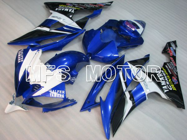 Yamaha YZF-R6 2008-2016 Injection ABS Fairing - Others - Blue White - MFS3869
