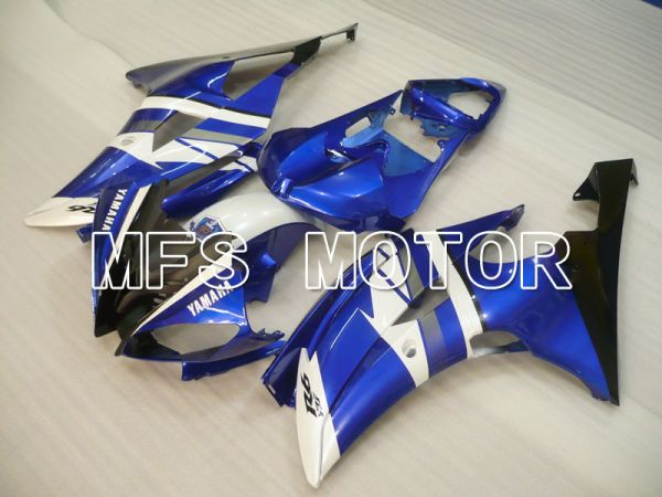Yamaha YZF-R6 2008-2016 Injection ABS Fairing - Factory Style - Blue White - MFS3883