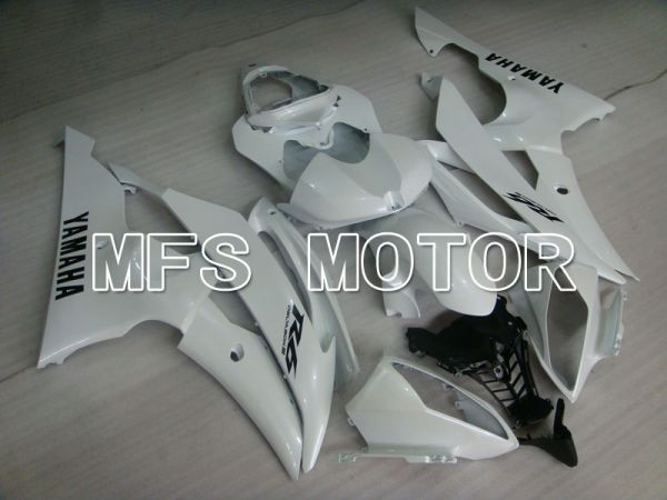 Yamaha YZF-R6 2008-2016 Injection ABS Fairing - Factory Style - White - MFS3891