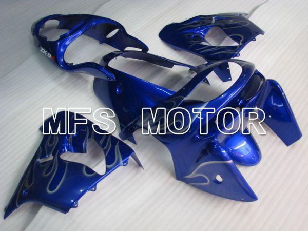 Kawasaki NINJA ZX9R 1998-1999 ABS Fairing - Flame - Blue White - MFS3909