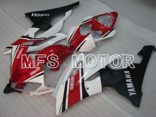 Yamaha YZF-R6 2008-2016 Injection ABS Fairing - Factory Style - Red White - MFS3921
