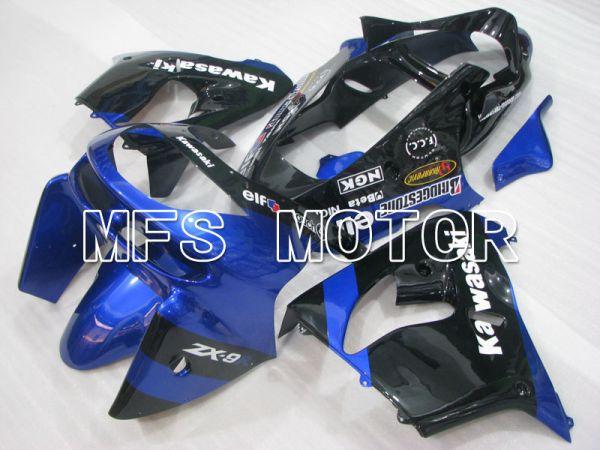 Kawasaki NINJA ZX9R 1998-1999 ABS Fairing - Factory Style - Blue Black - MFS3922
